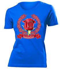 10 hochzeitstag rosenhochzeit hochzeitstag rosenhochzeit 10 jahre ehe t shirt damen s
