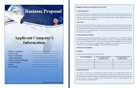 free business proposal template business proposal templated
