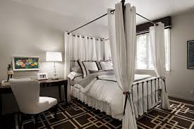four poster bed canopy curtains u2014 suntzu king bed make your own