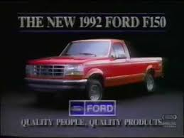 ford f150 commercial ford f150 television commercial 1991