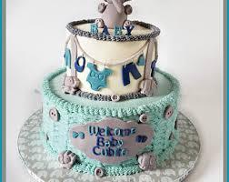 baby elephant cake etsy