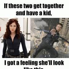 Black Widow Meme - hawkeye and black widow by memeguy219 meme center