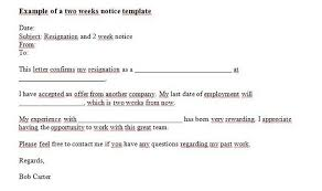 13 employee resignation letter templates u2013 free sample