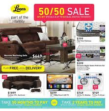Leons Furniture Kitchener Leon U0027s Canada Flyers