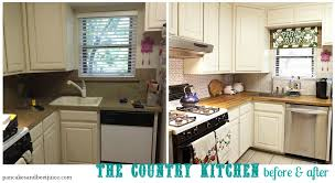 Tile Backsplash In Kitchen Pancakes And Beet Juice Country Kitchen D I Almost Y Tile