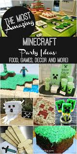 minecraft birthday party printables crafts and games frugal