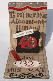 the dining room drawers 40th birthday card for my husband