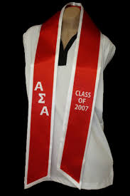custom graduation sashes sash stole custom design logo