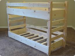 Building A Bunk Bed Toddler Bunk Bed Plans Bed Plans Diy Blueprints