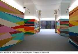 ag e murale bureau odili donald odita color geometric mural at columbus of