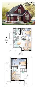 floor plans for a small house cottage style cool house plan id chp 28554 total living area