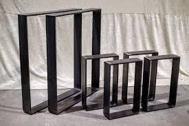 Esszimmer Set Ebay Tischgestell Tischkufen Bankkufen Tischbeine Vintage Stahl Roh