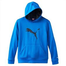 puma big cat hoodie cotton blue depths size extra large ebay