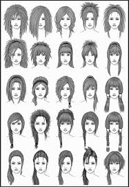 names of anime inspired hair styles anime hairstyles women hairstyles ideas