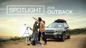 subaru outback 2018 grey new 2018 subaru outback spotlight explore together youtube