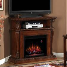 fire pit ameriwood home brooklyn electric fireplace tv console