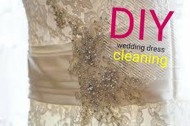 cleaning wedding dress diy wedding dress cleaning weddingbells