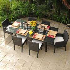 Maxime All Weather Wicker Outdoor Patio Set - Upscale outdoor furniture
