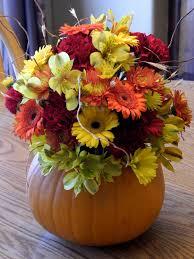 Flower Arrangements Home Decor Fall Wedding Ideas On Pinterest Pumpkin And Flowers Loversiq