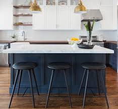 black kitchen islands black and white bar stools how to choose use them in kitchen island