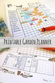 printable vegetable planner printable garden planner instant download vegetable calendar