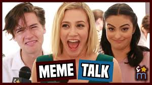 Cole Meme - riverdale cast react to being memes cole sprouse lili reinhart