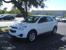 chevrolet equinox white 2011 chevrolet equinox ls in summit white 225639 jax sports