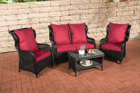 Garten Lounge Gunstig Clp Poly Rattan Garten Lounge Set Toledo 5 Mm Rund Geflecht Alu