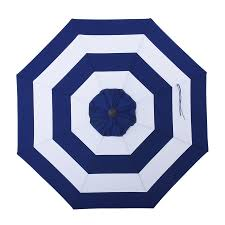 allen and roth ls shop allen roth navy awning market 9 ft patio umbrella at lowes com
