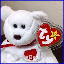 ty valentino extremely mwmt 1993 ty valentino beanie baby with swing tag