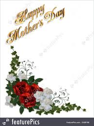 templates mothers day card roses stock illustration i2459198 at