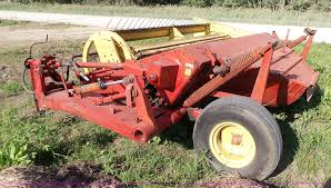 new holland 469 haybine windrower item l4923 sold june