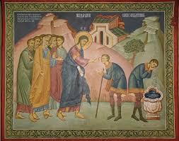 Jesus Healed The Blind Man Full Of Grace And Truth Excerpt From St John Chrysostom On The