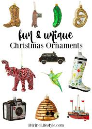 fun and unique christmas ornaments divine lifestyle
