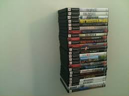 How To Design Video Games At Home by Building An Invisible Playstation 2 Game Shelf Youtube