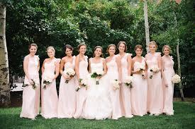 blush bridesmaid dress bridesmaid dresses blush bridesmaid gowns from real weddings
