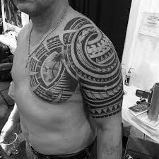 50 badass tribal tattoos for men manly design ideas