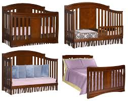 Baby Cribs 4 In 1 Convertible Simmons Slumber Time Elite 4 In 1 Convertible Crib 02