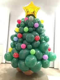balloon christmas tree decorations that balloons christmas balloon