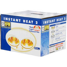 3 In 1 Bathroom Light Hpm 3 In 1 Bathroom Heat L Light Exhaust Fan White With 2