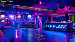 Neon Decoration Interieur Night Club Plus Haut Design
