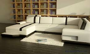 Modern Italian Leather Sofa Free Shipping Modern Sofa Balck And White Leather Customized