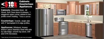 Chocolate Kitchen Cabinets White Java Kitchen Cabinets Countertops Appliances 8995
