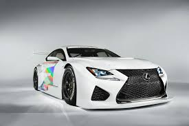 lexus rc modified hear the lexus rc f gt3 out testing on the track w video