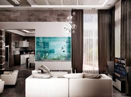 100 living room decorating ideas design photos of family rooms 100 ideas integrate aquarium designs in the wall or in the living