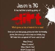 30th birthday invitations for him badbrya com