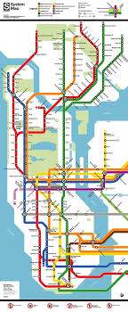 map of ny subway map new york s subway with a d c twist second ave sagas
