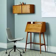 west elm mid century mini desk mid century mini secretary west elm with regard to elegant