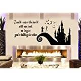 Nightmare Before Christmas Room Decor Amazon Com Nightmare Before Christmas Jack And Sally Vinyl Wall