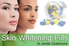 glutathione skin whitening pills supplements injection soap